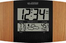 Atomic Digital Wall Clock with Forecast & Weather - PLR6152