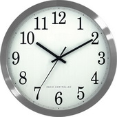 PLR Thornbury 12inch Atomic Analog Wall Clock - PLR6234