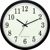 Stretton 14inch Atomic Analog Wall Clock - PLR6212