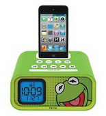 Kermit Alarm Clock/iPod Dock - WTD1434