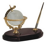 BLSN Crystal Globe Pen Stand - YBS5200