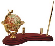 BLSN Globe Pen Stand with Card Holder - YBS5218