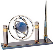 BLSN Crystal Globe Pen Stand - YBS5167