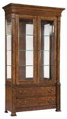 Hekman Tall China Cabinet - CHK1074