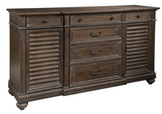 Hekman Louvered Door Buffet