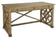 Hekman Oak Writing Table