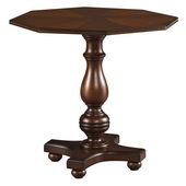 Hekman Georgetown Heights Octagon Lamp Table - CHK1419