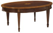 Hekman Copley Place Oval Coffee Table - CHK1422