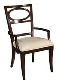 Hekman Arm Chair Oval Back - CHK3145