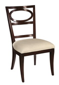 Hekman Side Chair Oval Back - CHK3148