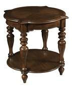 Hekman Round W Corner Lamp Table - CHK3187