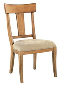 Hekman Side Chair Wood Back - CHK3289