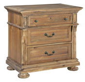 Hekman Three Drawer Night Stand - CHK3310