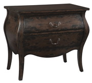 Hekman Brown W/blk Bombay Chest - CHK3442