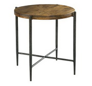 Hekman Metal & Wood End Table - CHK3691