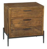 Hekman Three Drawer Night Stand
