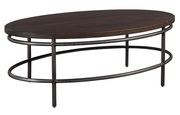 Hekman Oval Coffee Table