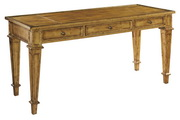 Hekman Gold Leaf Table Desk
