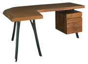 Hekman L Desk W File