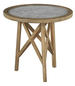 Hekman Round End Table Wdrawer