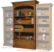 Hekman Urban Executive Bookcase - CHK2181