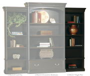 Hekman Louis Phillippe Executive Right Pier Bookcase - CHK2217