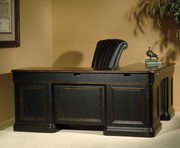 Hekman Louis Phillippe Executive L-Desk - CHK2223