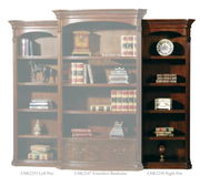 Hekman Old World Right Pier Bookcase - CHK2250