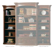 Hekman Old World Left Pier Bookcase - CHK2253
