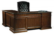 Hekman Old World Executive L-Desk - CHK2256
