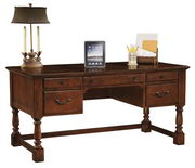 Hekman Weathered Cherry Table Desk - CHK2385