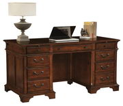 Hekman Weathered Cherry Junior Executive Desk - CHK2391