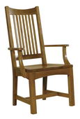 Hekman Arts & Crafts Arm Chair - CHK2700