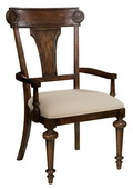 Hekman Panel Back Arm Chair - CHK2988