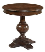 Hekman Round Lamp Table - CHK3919