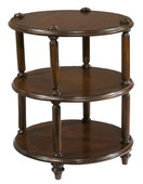 Hekman Round 3 Tier Lamp Table - CHK3922