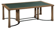 Hekman Coffee Table Metal & Stone - CHK4027