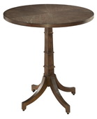 Hekman Round Chair Side Table