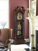 Howard Miller J H Miller Deluxe Triple Chiming Traditional Grandfather Clock (Made in USA)- CHM1022
