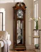 Howard Miller CHM4088 Eminent Chiming Grandfather Clock in Hampton Cherry (Made in USA)