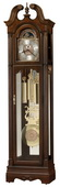 Howard Miller Wellston Prestigious Chiming Grandfather Clock Cherry (Made in USA)
