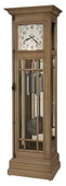 Howard Miller Davidson II Chiming Grandfather Clock in Aged Natural (Made in USA) - CHM4796