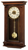 Howard Miller Deluxe Triple-Chime Quartz Wall Clock Cherry - CHM1970