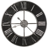 Howard Miller Deluxe 32in Steel Quartz Wall Clock - CHM4102