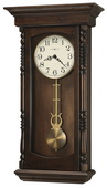 Howard Miller Triple Chiming Wooden Wall Clock - CHM4104
