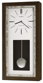 Howard Miller Deluxe Wooden Wall Clock Espresso Finish & Westminster Chime - CHM4120
