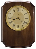 Solid Walnut Plaque Piano Finish Wall & Tabletop Clock - CHM4128
