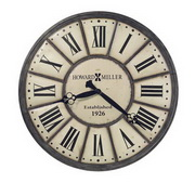 Howard Miller Company Time 49in Company Time Howard Miller Large Iron Wall Clock - CHM4132