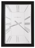 Howard Miller Rectangular Wall Clock Finished in A Hand-Rubbed & High Gloss Black - CHM4140