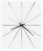 Howard Miller Deluxe 30in Contemporary Wall Clock - CHM4348